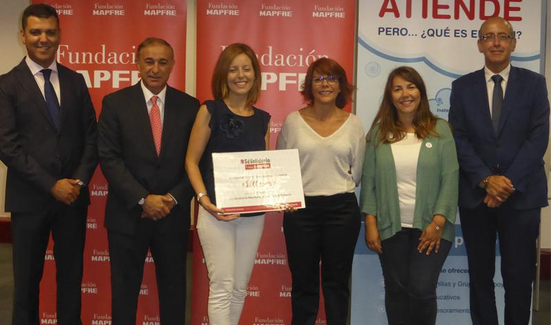 Fundación MAPFRE ha entregado hoy una donación de 5.000 euros a la Asociación de Niños Hiperactivos del Principado de Asturias