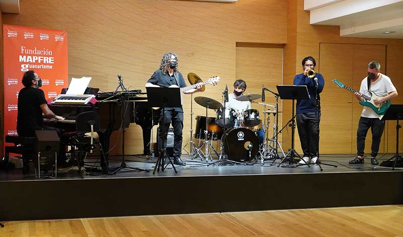 Concierto Surge de Javier Montero Jazz band