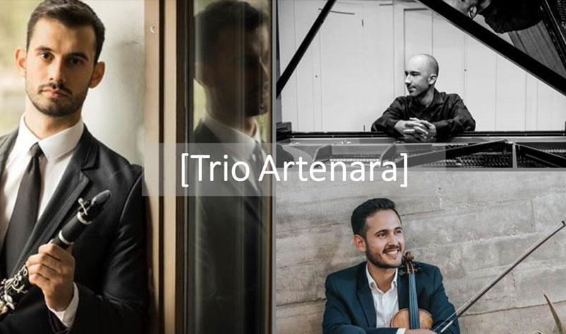 Concierto de los musicos canarios del Trío Artenara