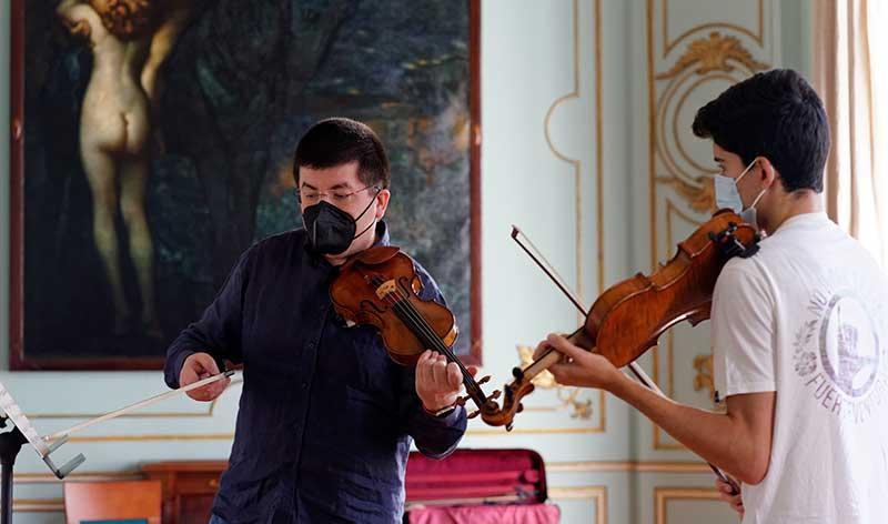 Clases magistrales de violín con Vera Martínez