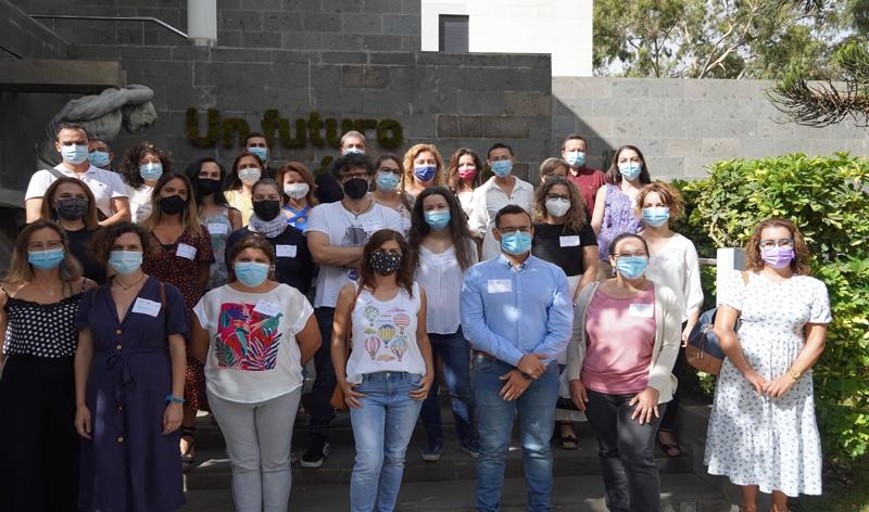 Grupo de participantes en la tercera edición del programa «EMPLEA +35»