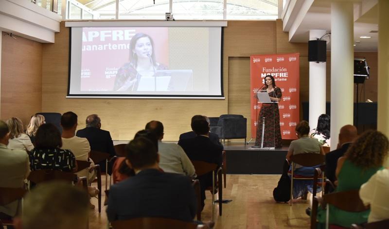 Yaiza Castilla, Consejera de Turismo del Gobierno de Canarias durante su intervención